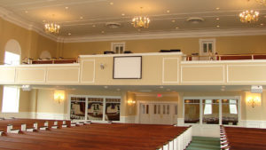 Jackson Builders Church Interior