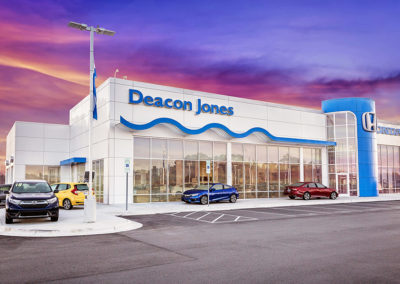 Jackson Builders Project Deacon Jones Honda