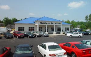 Jackson Builders Project Matthews Motors
