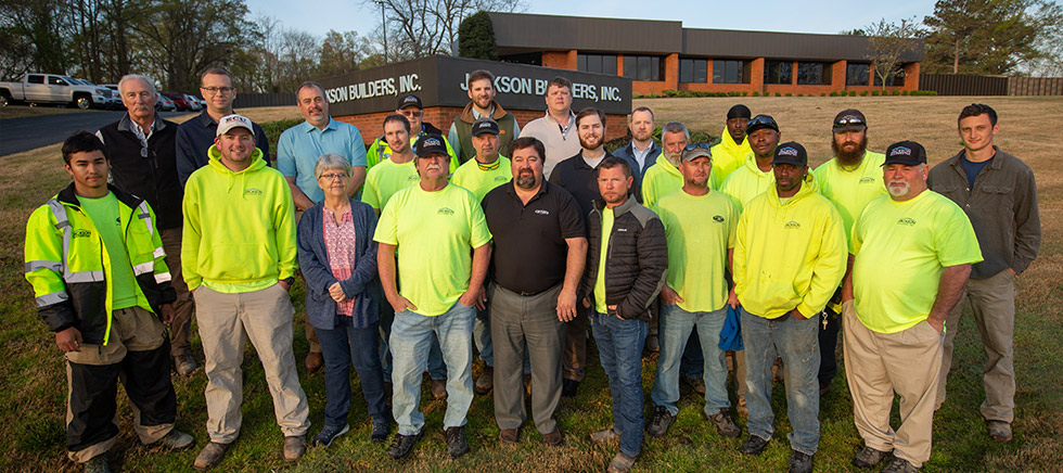 Jackson Builders | Our Team